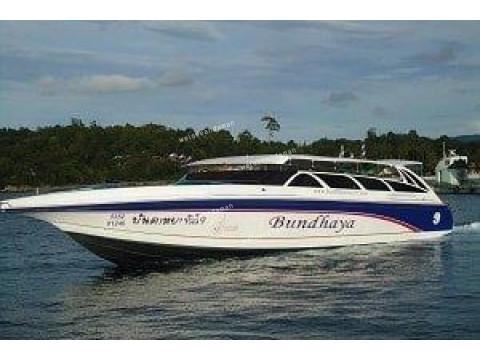 เรือโดยสาร จาก ภูเก็ต - หลีเป๊ะ (ส่ง เกาะพีพี  , ลันตา ,  ไหง , มุก , กระดาน ,  บุโหลน ได้) (speed boat)