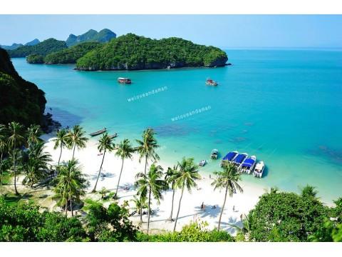 แพคเกจทัวร์หมู่เกาะอ่างทอง (เดินทางจากเกาะสมุย)