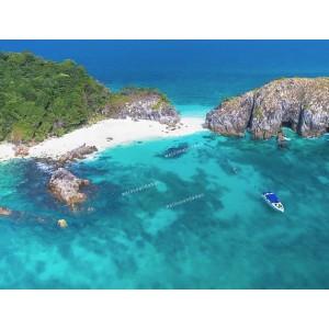 แพคเกจ 3 เกาะพม่า(เกาะหัวใจมรกต, เกาะฮอร์สชู, เกาะย่านเชือก)+เกาะช้างเผือก (Cock Burn) พร้อมที่พัก และรถรับ-ส่ง สนามบิน ( 4 วัน 3 คืน )