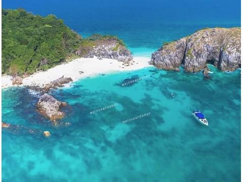 แพคเกจทัวร์ เกาะค๊อกเบิร์น ( เกาะช้างเผือก ) ( เกาะพม่า ) 1 day