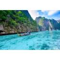 แพคเกจทัวร์ เกาะพีพี-เกาะไผ่ Speed Boat +ชมโชว์โลมา พร้อมที่พัก(ภูเก็ต) และรถรับ-ส่ง สนามบิน (2 วัน 1 คืน)