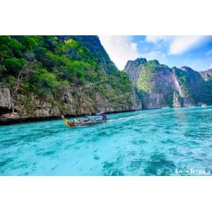 แพคเกจประหยัด ทัวร์เกาะพีพี ด้วยเรือเฟอรี่ + ห้องพัก Hostel  ( 3 วัน 2 คืน )
