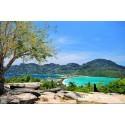 แพคเกจเกาะรอก Speed Boat + เกาะพีพี&เกาะไผ่ Speed Boat พร้อมที่พัก(ภูเก็ต) และรถรับ-ส่ง สนามบิน ( 4 วัน 3 คืน )