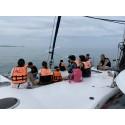 ทัวร์เกาะไข่ครึ่งวันบ่าย  ด้วยเรือยอร์ช คาตามารัน (เรือใบ)
