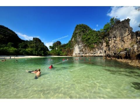 ทัวร์เกาะห้อง ท่องทะเลใน กระบี่  (เรือออกจากกระบี่)