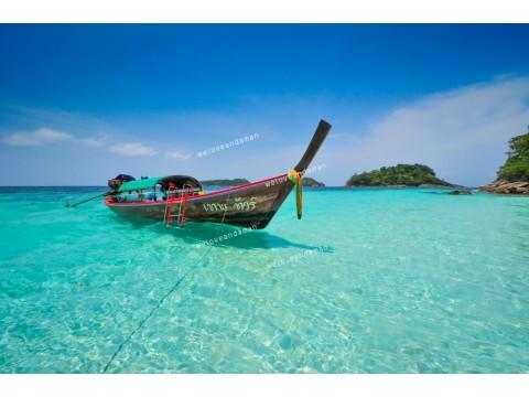 แพคเกจทัวร์ เกาะหลีเป๊ะ + ห้องพัก + เรือรับส่งเกาะ + รถรับส่งสนามบิน (4วัน 3คืน)  (Extra Package)