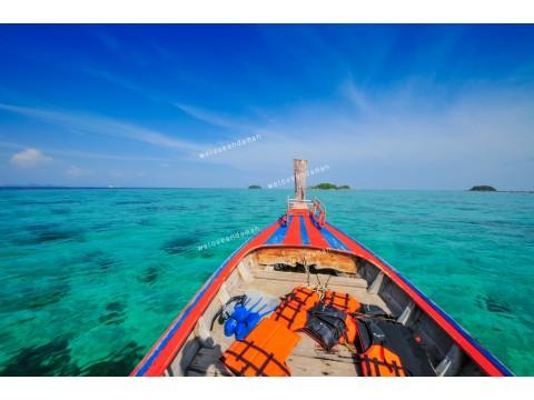 แพคเกจทัวร์ เกาะหลีเป๊ะ + ห้องพัก + เรือรับส่งเกาะ + รถรับส่งสนามบิน (3วัน 2คืน)  (Extra Package)