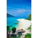 แพคเกจทัวร์ เที่ยวปีใหม่! 30/12/61 - 01/01/62  เกาะหลีเป๊ะ + ห้องพัก + เรือรับส่งเกาะ + รถรับส่งสนามบิน (3วัน 2คืน)  ( Promotion )