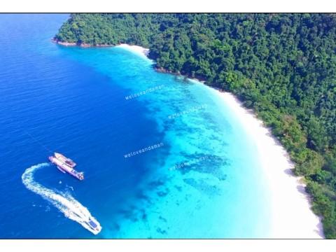แพคเกจทัวร์ เกาะนาวโอพี  1 day trip ( เกาะพม่า )