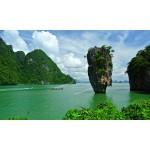 แพคเกจทัวร์อ่าวพังงา Speed Boat +เกาะพีพี-เกาะไผ่ +ชมโชว์สยามนิรมิตและDinner พร้อมที่พัก(ภูเก็ต) และรถรับ-ส่ง สนามบิน ( 4 วัน 3 คืน )