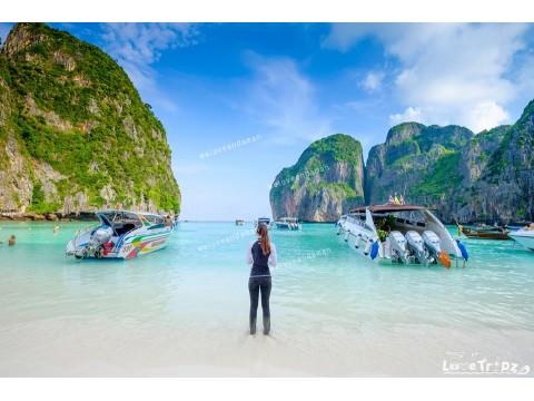 แพคเกจทัวร์ เกาะพีพี+อ่าวมาหยา+เกาะไข่ (โปรแกรมชมพระอาทิตย์ตก)