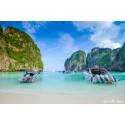 แพคเกจทัวร์เกาะพีพี+เกาะไผ่ ด้วยเรือ Speed Boat พร้อมที่พัก(ภูเก็ต) และรถรับ-ส่ง สนามบิน ( 2 วัน 1 คืน )
