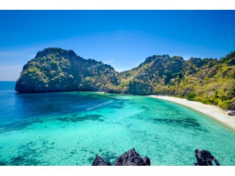 แพคเกจทัวร์ 3 เกาะพม่า  : เกาะฮอร์สชู-เกาะหัวใจมรกต-เกาะย่านเชือก (เรือออก ศุกร์, เสาร์, อาทิตย์)