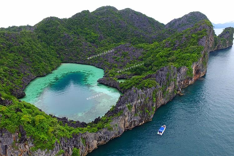 เกาะหัวใจมรกต