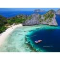 แพคเกจทัวร์ 4 เกาะ เกาะหัวใจมรกต - เกาะฮอร์สชู - เกาะตาฟุ๊ก - เกาะย่านเชือก 1 วัน ( เรือออกจากระนอง)