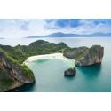 แพคเกจทัวร์ เกาะนาวโอพี  +เกาะหัวใจมรกต  +เกาะฮอร์สซู    2 วัน 1 คืน  ( พักเกาะนาวโอพี )