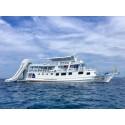เกาะราชาน้อย(pirates beach) เกาะราชาใหญ่ ดูโลมาเกาะไม้ท่อน 2 วัน 1 คืน (นอนเรือคูน) (ฟรี TRY DIVE 15 นาที)