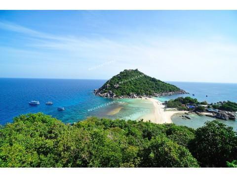 แพคเกจทัวร์เกาะเต่า, เกาะนางยวน  (เรือออกจากเกาะสมุย)